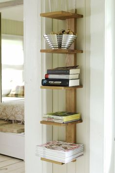 Hylle Cambridge eik med 5 hyller - Hyllemakeriet Bookshelf Styling, Bookshelves, Bookcase, Woodworking Tools, Diys, Projects To Try, Living Room, Wood Working, Storage Ideas