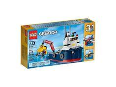 LEGO Creator 31045 - Ocean Explorer http://www.flickr.com/photos/thebricktime/22726174128/