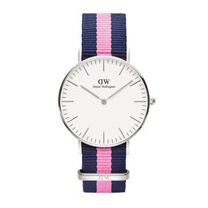 The Classic Winchester (36mm) in Silver by Daniel Wellington