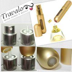 TRAVALO es el único e inigualable Porta Perfume del mundo. Siempre serán distinguidos por mantener fresco el aroma de su fragancia favorita en todo momento.   ¡ Nunca Salgas sin El !