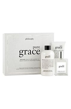 $49.50 philosophy 'pure grace' fragrance layering collection ($77 Value) available at #Nordstrom