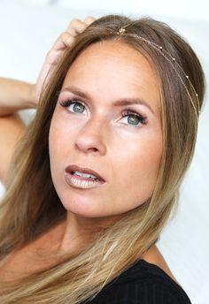 Nina Susanne: Metallic lips - MAKEUP TUTORIAL