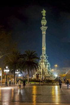La Rambla, in Barcelona, is a large street supporting all of your shopping  needs. c110f8a08a