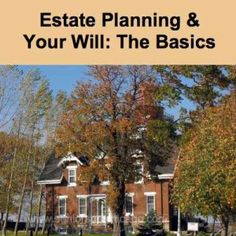 Estate Planning & Your Will: The Basics. Visit SeniorSpotChicago.com for more retirement info and fun senior discounts!