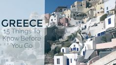 These are the best Greece travel tips to help you out before your trip to Greece. Get ready to eat delicious food and relax in the Mediterranean sea. Opa!