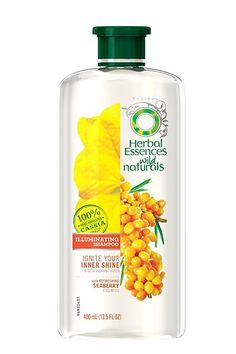Herbal Essences' new Illuminating line uses seaberry extract to help your mane achieve its best shine, yet. Perhaps, shampoo-commercial hair is achievable IRL, after all.Herbal Essences Illuminating Shampoo, $6.49, available at Soap.com.