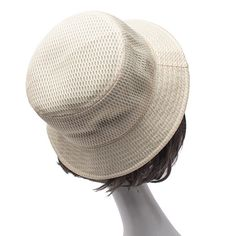 9ff76b30 Ladies Polyester Fiber Solid Mesh Pattern Breathable Lightweight  Low-Profile Fashion Bucket Cap. Bucket Cap, Sun Shade, Hats ...