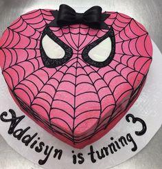 Calumet Bakery Spider girl Cake
