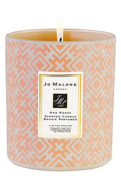 David Hicks for Jo Malone Red Roses Decorated Candle No Color 7 oz