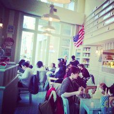 Pancakes & Love. Saturday morning at @white.bakery - Rimini. #breakfast #whitebakery #rimini #americanstyle #vintage #food #delicious #instapic #picoftheday #yumyum #style #pastelcolors #Holiday #fun #instamood #instafood #travelgram #travel #seaside #riminirimini #italy by mynameisazzurra