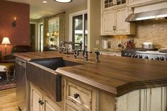 What about a wood counter top?