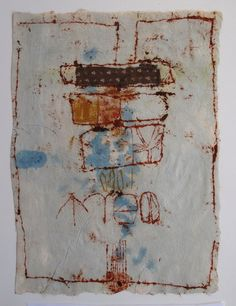Hannelore Baron (1926-1987), Untitled, July 1986. Mixed-media collage. 31.8cm H x 22.9cm W.