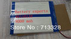 $17.55 (Buy here: https://alitems.com/g/1e8d114494ebda23ff8b16525dc3e8/?i=5&ulp=https%3A%2F%2Fwww.aliexpress.com%2Fitem%2FOriginal-Li-ion-Battery-3-7v-8000mAH-Approx-for-Sanei-N10-Quad-Core-AMPE-A10-Quad%2F32305228116.html ) Original Li-ion Battery 3.7v 8000mAH(Approx) for Sanei N10 Quad Core, AMPE A10 Quad Core,Dual Core 3G Tablet PC 40*110*148mm for just $17.55