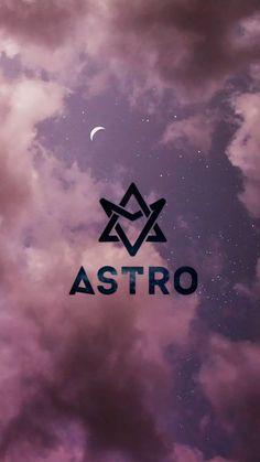 Astro Wallpaper, New Wallpaper, Iphone Wallpaper, Kpop Backgrounds, Wallpaper Backgrounds, Astro Kpop Group, Kpop Logos, Cha Eun Woo Astro, Roblox Pictures