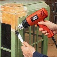Professional Review Rotating And Ceramic Hot Air Brush Heat Guns Stripping Paint Black Decker