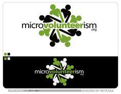 Microvolunteerism Project Logo  by Neticule