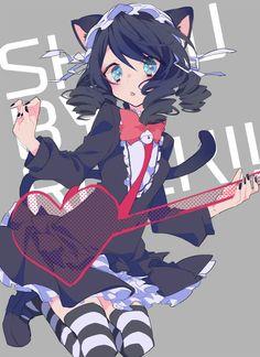 anime girl, boy, drawr, girl, kawaii, manga, pixiv, anime