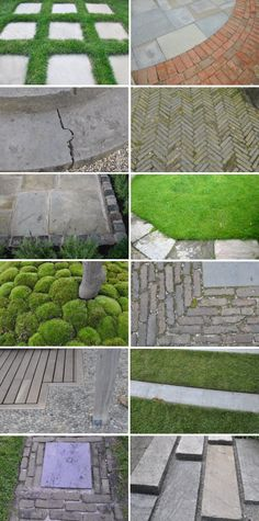 looking down in the garden- some of my work and ga… - Moderne Ideen