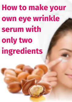 How to make your own eye wrinkle serum with only two ingredients