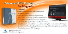 """#Advanced #PDF #Catalog for #Magento is #module that generate pdf file of your #products and #categories. To print them you have to select one of the provided #templates and press """"Get PDF"""" button to complete #generation procedure #pdf.  #Ovologics #extension #ecommerce #store"""