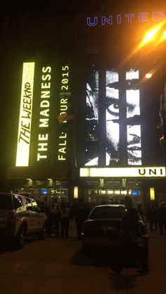the weeknd madness fall tour Chicago