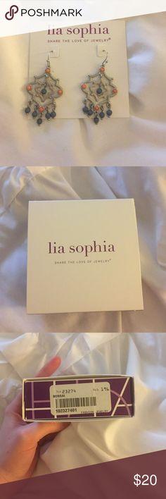 Bonsai Earrings Gorgeous Bonsai Earrings from Lia Sophia Lia Sophia Jewelry Earrings