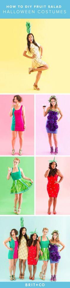 Fruits salad costume