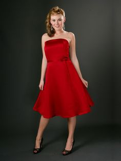RED BRIDES MAID DRESSES | Red Bridesmaid Dresses