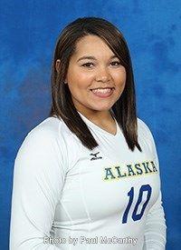 Alaska Nanooks Paola Oliver Otero 2016 Women S Volleyball Women Volleyball Women Volleyball