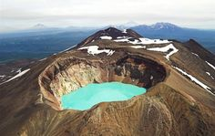 Maly Semyachik (Russian: Малый Семячик) is a stratovolcano located in the eastern part of Kamchatka Peninsula, Russia.