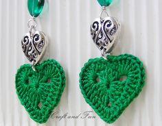 DIY earrings crochet