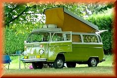 """Sunflower  campers.. what a fun way to drive around France in """"Olive"""" last spring"""