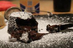 Schokotörtchen mit flüssigem Kern // Fondant au chocolat - der kulinarische donnerstag