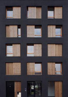 Architecture Windows, Residential Architecture, Architecture Details, Interior Architecture, Minimalist Architecture, Classical Architecture, Home Building Design, Building Facade, Facade Design