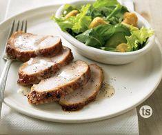 Tasty Turkey Tenderloin Easy Meal Prep, Easy Meals, Turkey Tenderloin Recipes, Hickory Bbq, Tastefully Simple Recipes, Smoky Bacon, Bbq Bacon, Tasty, Yummy Food