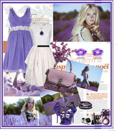 """""""Purple represent ..."""" by girl-gene ❤ liked on Polyvore"""