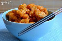narancsos-szezámmagos kínai csirke