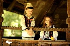 Children proud of their cultural heritage. #Romania