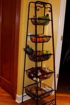 Recipes We Love: One Way To Help You Eat More Fruits and Veggies - Love this fruit stand!