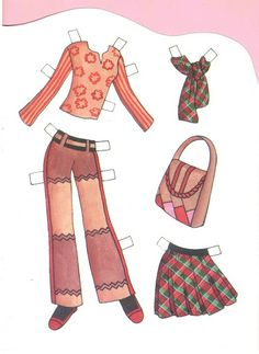 Paper Doll A - #P-2/5