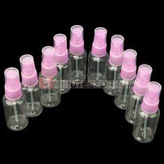 10x 30ml Transparent Clear Beauty Makeup Empty Atomizer Perfume Spray Bottles