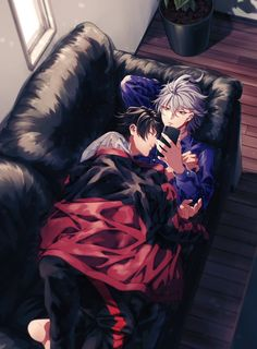 Hypnosis Mic ( Not an anime actually ) Handsome Anime Guys, Cute Anime Guys, Anime Love, Fanarts Anime, Anime Characters, Mc Lb, Magic Anime, Happy Tree Friends, Shounen Ai