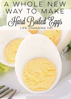 A Whole New Way to Make Hard Boiled Eggs! Life Changing Tip!