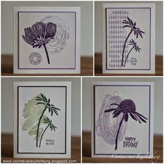 Corine's Gallery: simple cards with Art Journey and Darkroom Door