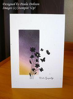 Lovely Sympathy Card from Paula Dobson