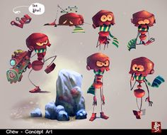 Ahmad Beyrouthi: Character Design