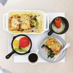 6 個讚,3 則留言 - Instagram 上的 s_s(@s_s_o_o_s_s_o_o):「 . good morning mooooonday :-目))) . #goodmorning #morning #breakfast #yummy #goodfood #instafood… 」