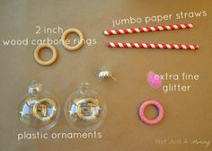 DIY Ornament Glasses Such a fun idea for parties  Holiday
