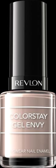 NEW Revlon Colorstay Gel Envy™ Nail Enamel. 2 Steps to Total Gel Envy. My Shade: CHECKMATE.