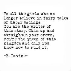 To all the girls- princesses and queens!//